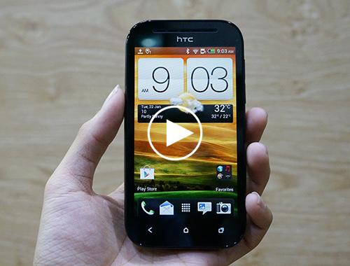 Đánh giá điện thoại HTC Desire SV | DCmobile.vn