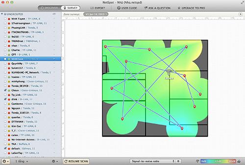 Đánh giá NetSpot trên OS X - ứng dụng phân tích và khảo sát mạng Wi-Fi dễ dùng 914847