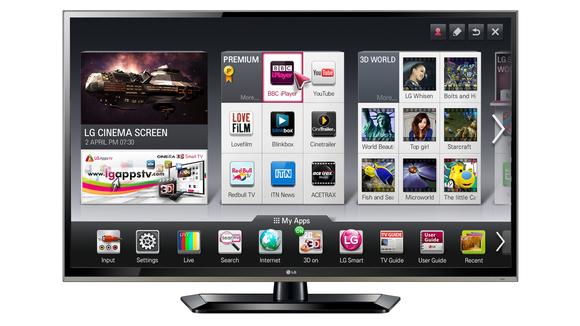 LG Smart TV-580-100
