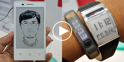 e-ink watch & e-ink phone.