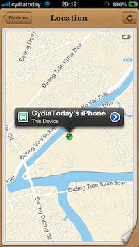 iPhone locate