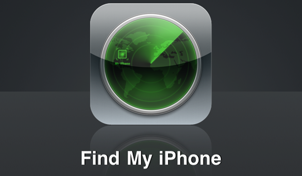 Find My iPhone logo.