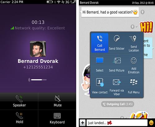 Viber bổ sung tính năng thoại cho người dùng BlackBerry OS 5 và OS 7