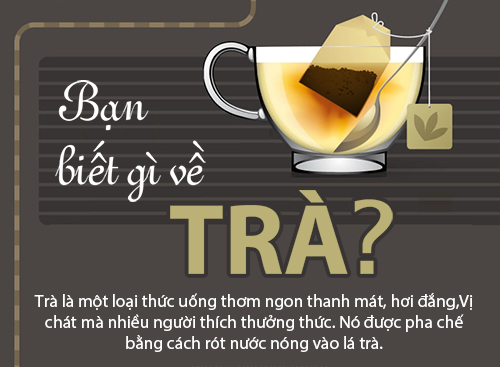[Infographic] Những ích lợi từ trà