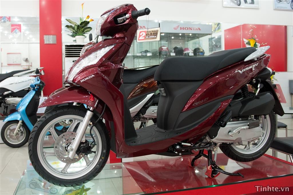 Hình ảnh thực tế xe tay ga Honda Vision 2013, thiết kế giống đời ...