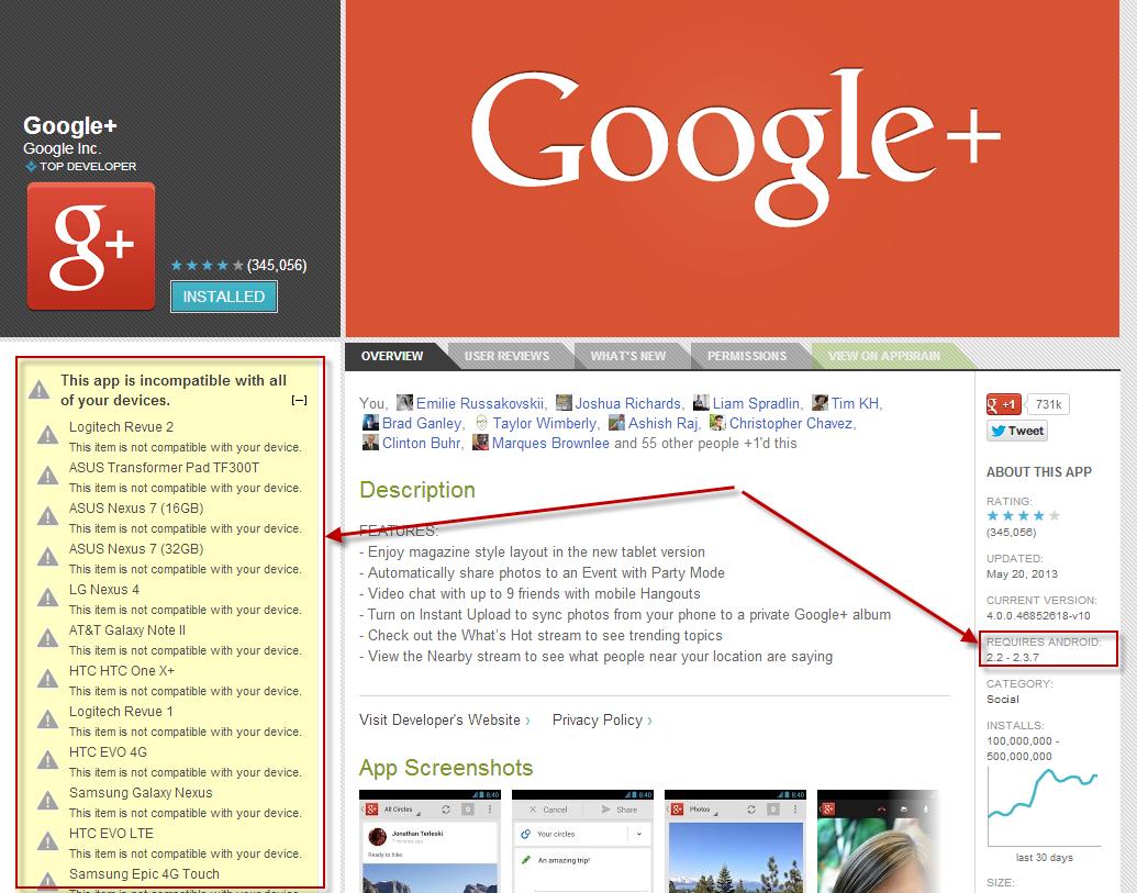 Google Plus Imcompatible.png