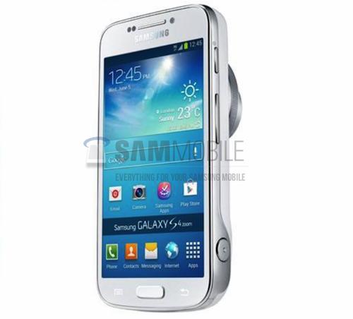 Samsung Galaxy S4 Zoom lộ diện hình ảnh đầu tiên
