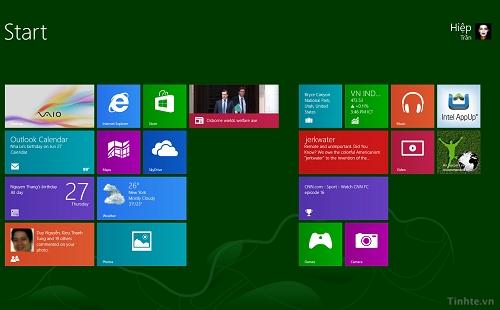 Bản Windows 8.1 sẽ được cập nhật vào ngày 17/10 vào 18h (múi giờ Việt Nam)