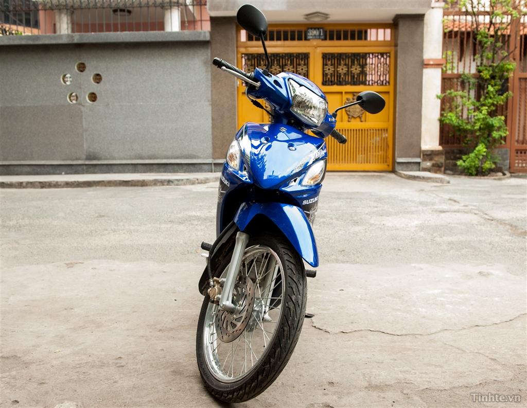 Đánh giá Suzuki Viva 115 Fi: xe số phổ thông ít hao xăng