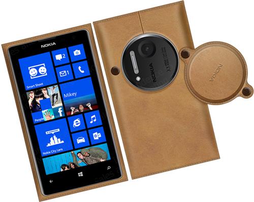 Lộ diện ảnh phụ kiện vỏ bằng da dành cho Lumia 1020 - Tinhte.