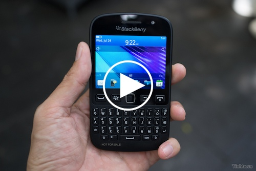 Trên tay BlackBerry Curve 9720: chất lượng phần cứng tốt, màn hình cảm ứng và OS7.1