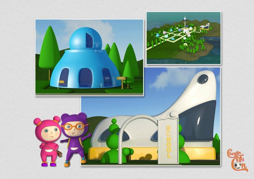 """Quy trình làm phim hoạt hình 3D qua bộ phim """"Chuyện trẻ con"""" Chuyen_tre_con_9-jpg"""