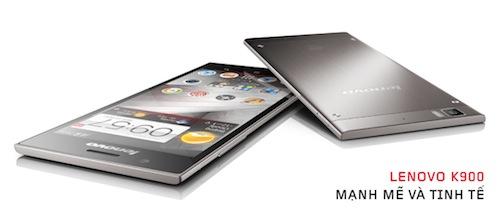[QC] Lenovo K900: Mạnh mẽ và tinh tế