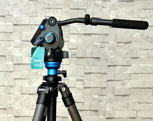 Camera tinh te tripod Benro video head.