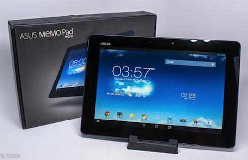Đánh giá Memo Pad 10 - máy tính bảng 10 inch rẻ nhất VN bán tại TechOne.vn