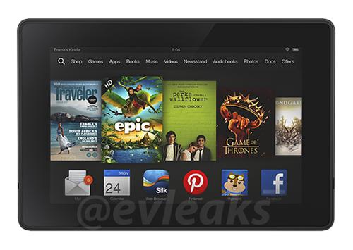 Rò rỉ hình ảnh Kindle Fire mới, thiết kế không thay đổi nhiều so với năm ngoái