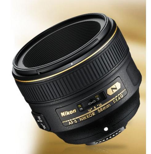 Camera tinh te Nikon 58mm.
