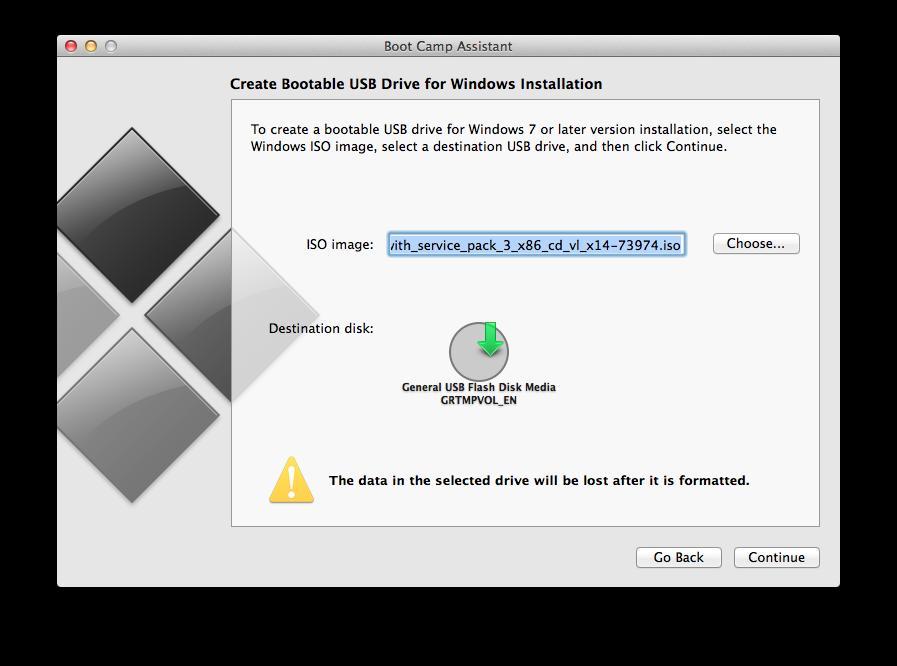 [Hướng Dẫn] Cài Windows bằng USB khi BOOTCAMP không cho phép ở Macbook Pro (Chỉ trên OS X 10.9)   Tinh tế