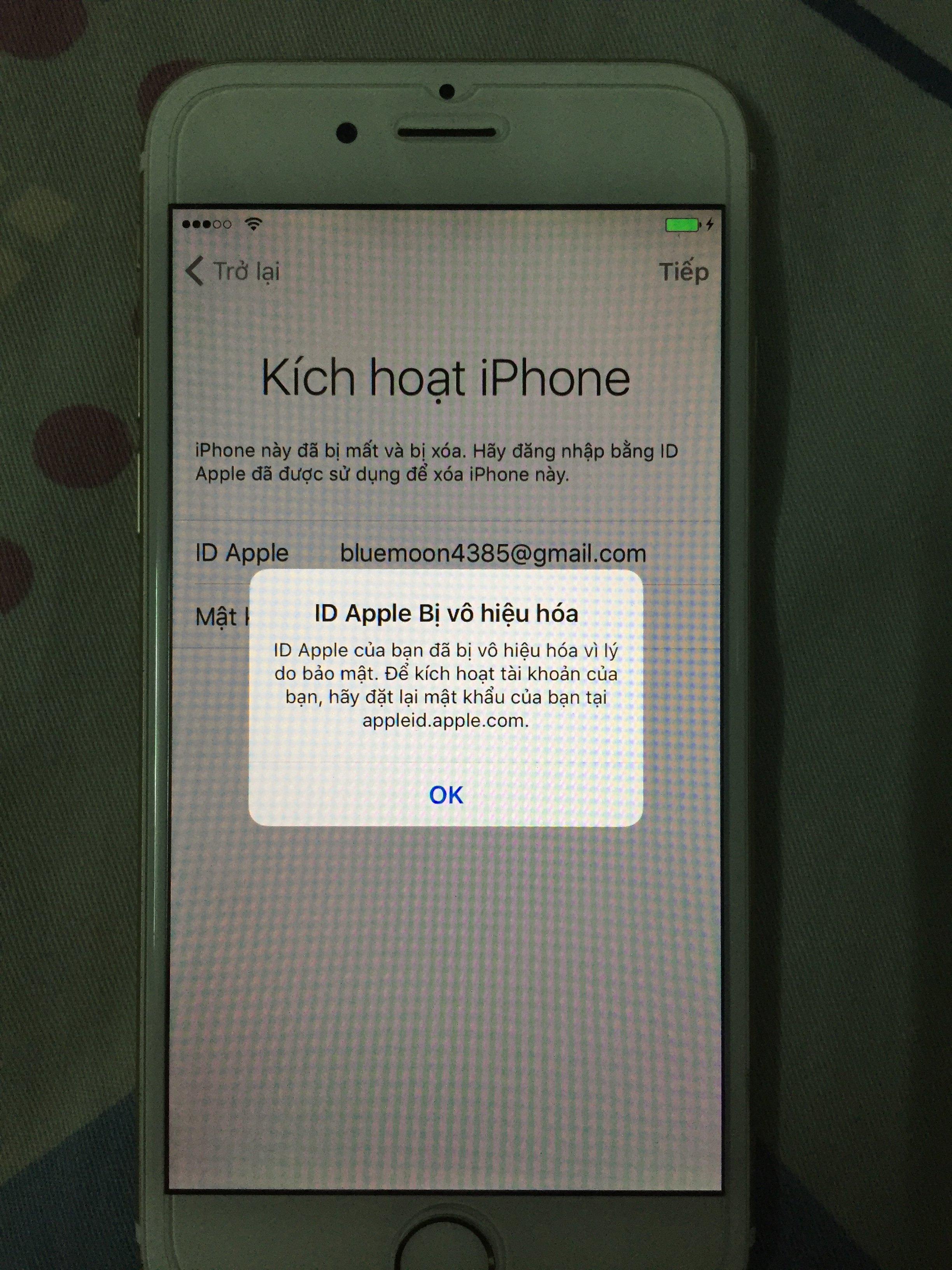 Bị Hack Xoa Cả Id Apple Giup Minh Với Tinh Tế