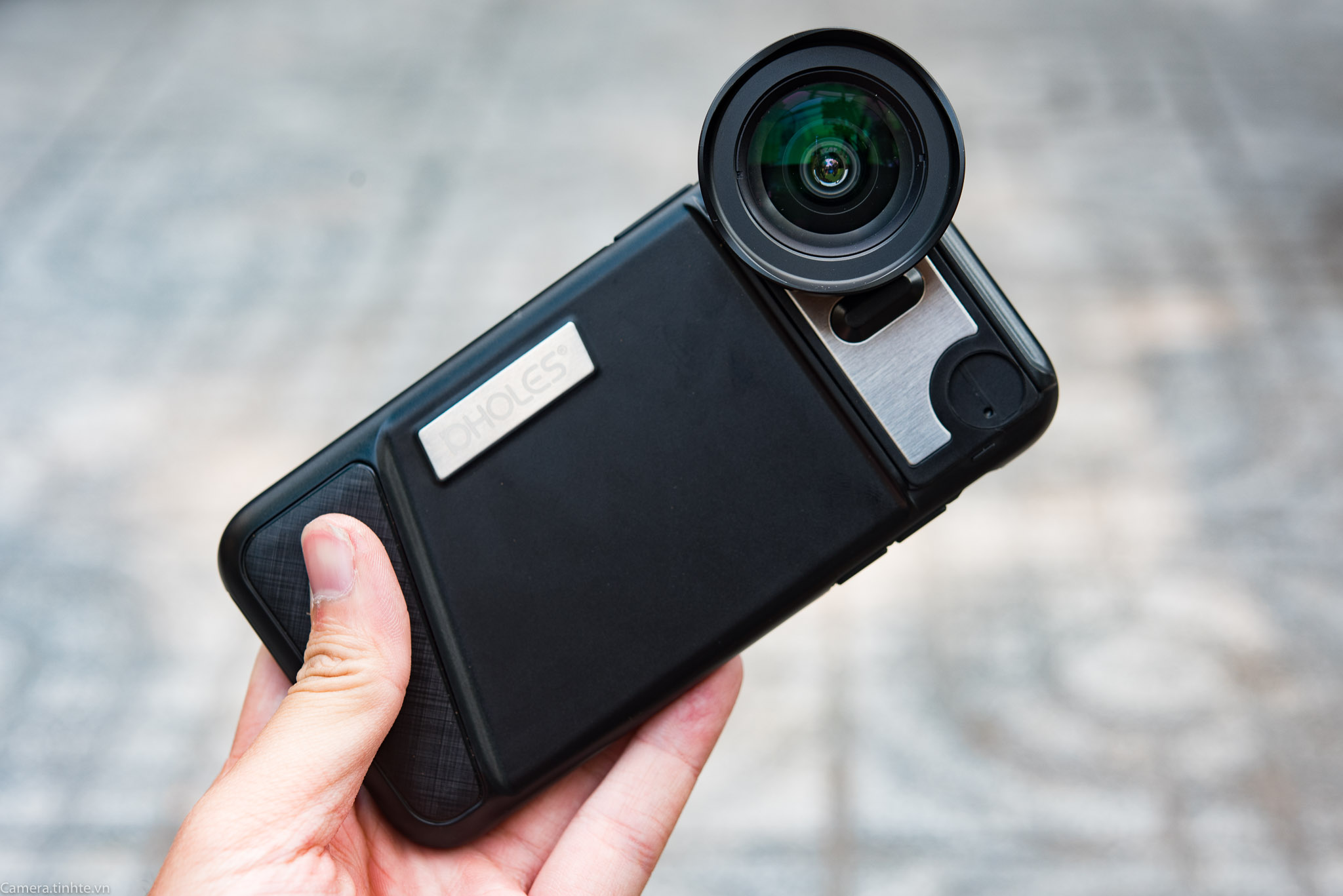 Tren tay ong kinh P-Hole lens iPhone X - Camera.tinhte.vn-11.jpg