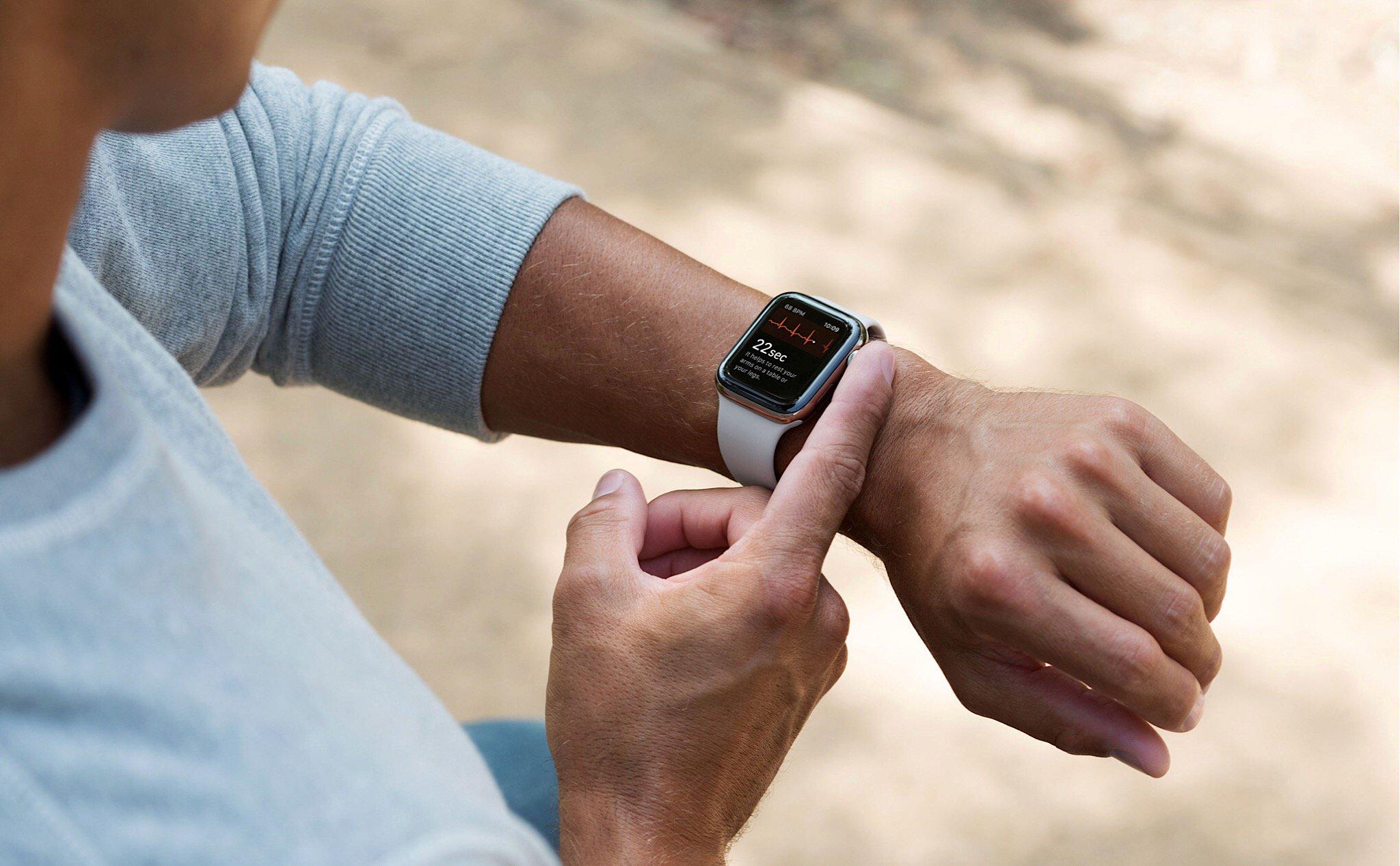 Tính năng đo điện tim trên Apple Watch 4 có thể sẽ xuất hiện trong watchOS  5.1.2 sắp tới | Tinh tế