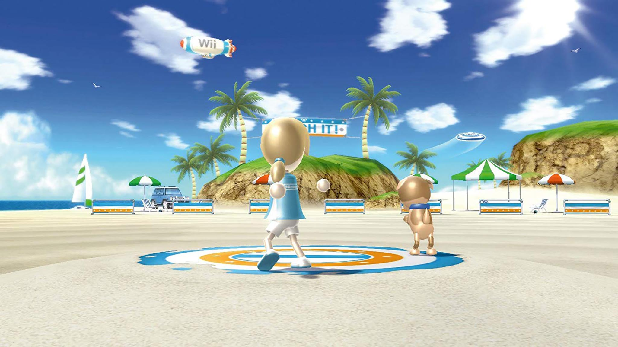 Wii Sport Resort game play.jpg