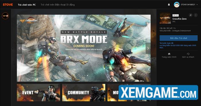 Crossfire Zero | XEMGAME.COM
