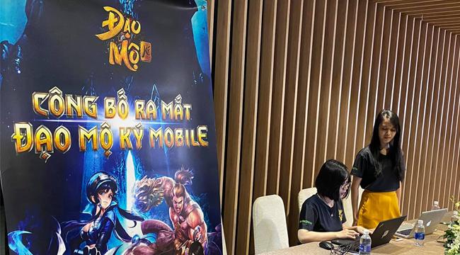 NPH SohaGame mở họp báo ra mắt Đạo Mộ Ký Mobile tại Việt Nam