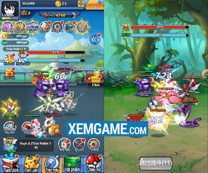 Pokemon Truyền Kỳ H5   XEMGAME.COM