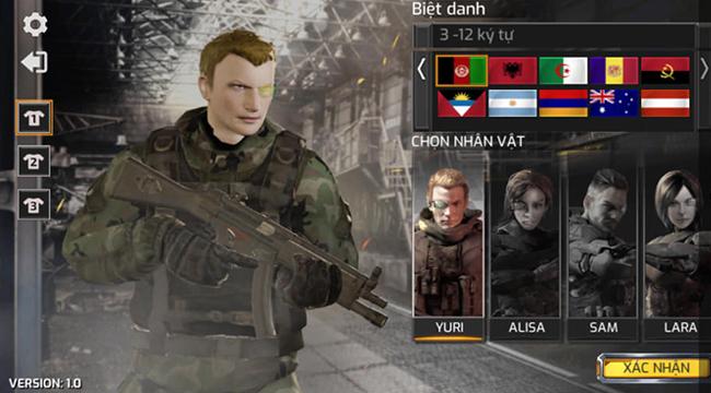Project War Mobile – game bắn súng với đồ họa đẹp và hỗ trợ hoàn chỉnh tiếng Việt ra mắt