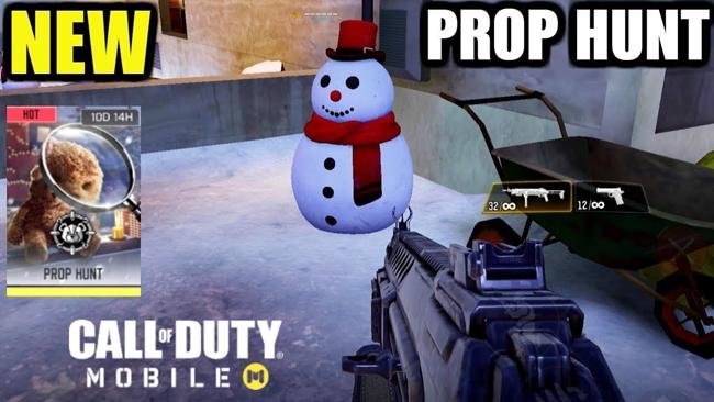 Chế độ săn đồ vật chính thức cập bến Call of Duty Mobile