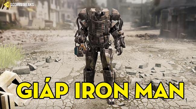 Call of Duty Mobile mùa 3 sẽ cho người chơi mặc giáp robot hóa Iron Man