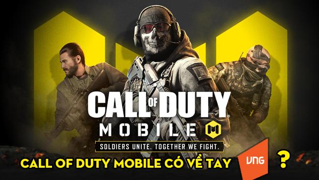 Bất ngờ xuất hiện thông tin Call of Duty Mobile sắp được VNG phát hành tại Việt Nam?