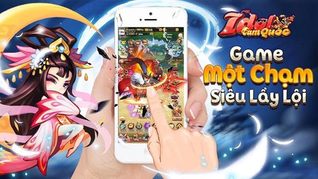 Idol Tam Quốc Funtap là game một chạm 3Q đa nền tảng