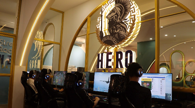 Trải nghiệm Hero eSports Center & Coffee Lounge – phòng net hàng đầu Nha Trang
