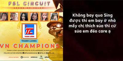 Thanh Lương Girls thách thức, đổ lỗi sau khi điểm vết nhơ vào LQM VN