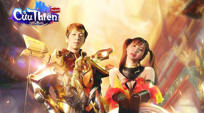 Cặp đôi vàng trong làng StreamViruSs – Ngân Sát Thủ cực ngầu khi hóa thân đại sứ Cửu Thiên Mobile