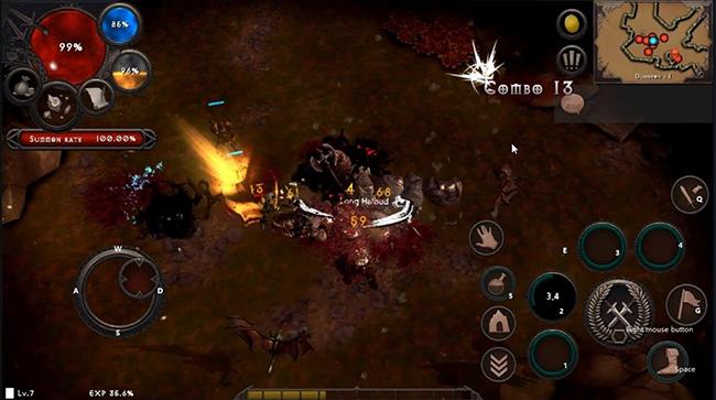 Dungeon and Evil – game chặt chém thuần Diablo có hỗ trợ tiếng Việt