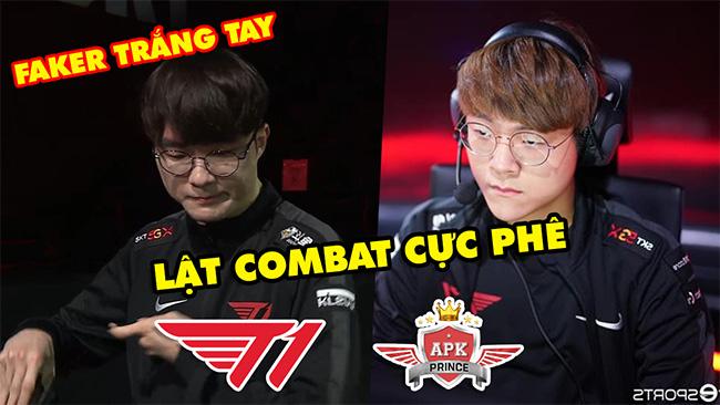 [LCK 2020] SKT lật combat như lật bánh tráng trước lính mới, Faker trắng tay | Highlight T1 vs APK