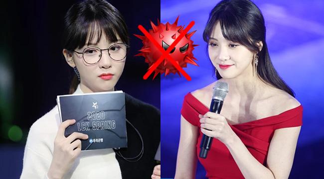 LMHT: Nữ MC Kim Min Ah âm tính với virus Corona – LCK một phen hú vía