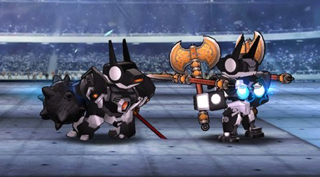 Megabot Battle Arena – game đấu trường với hơn 50 triệu khả năng tạo robot cho bạn thử qua