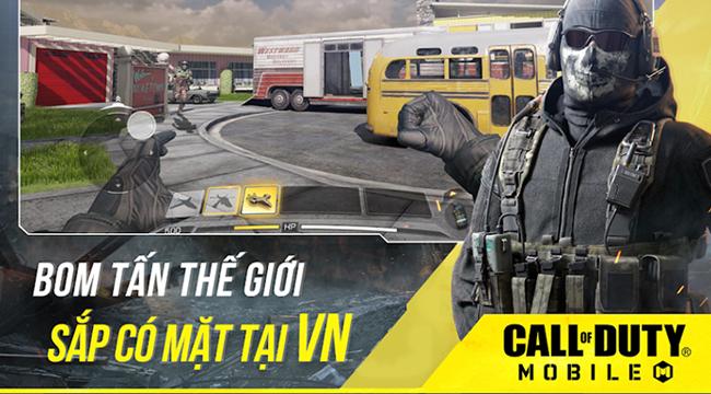 """Call of Duty Mobile VN mở """"Đăng ký trước"""" trên Google Play"""