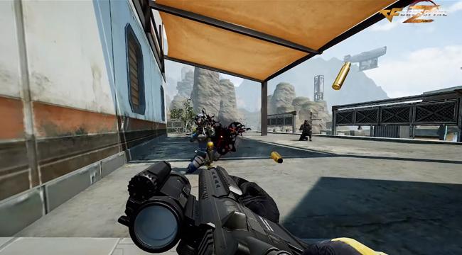 Chế độ sinh tồn của Crossfire  Zero hé lộ trailer gameplay