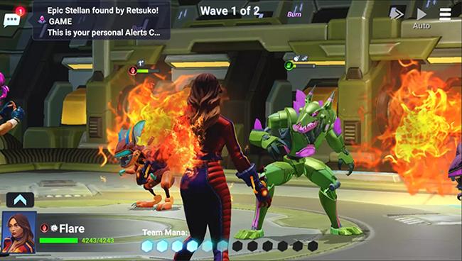 Crystalborne: Heroes of Fate – game có nhiều tính năng giúp tiết kiệm thời gian