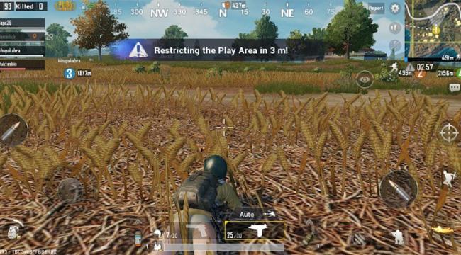 """PUBG Mobile : Một số mẹo để """"hòa vào môi trường"""" trong game"""
