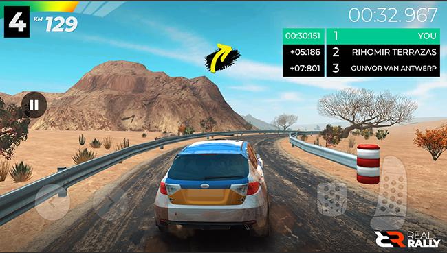 Real Rally – game đua xe mang đến những giây phút bo cua gắt nhất