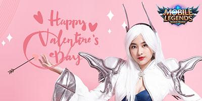 Mobile Legend: Bang Bang VN tung bộ ảnh lịch Valentine cực ngọt ngào