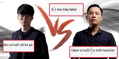Học trò thầy Ba mạt sát Faker trên stream, người hâm mộ Hàn nổi giận đòi chặn IP VN