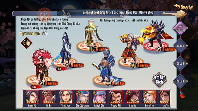 Game thủ Tam Anh Chiến mobile san sẽ bí quyết để tìm đội hình tối ưu nhất