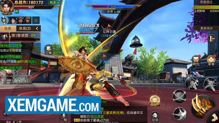 Chiến Thần 3D | XEMGAME.COM